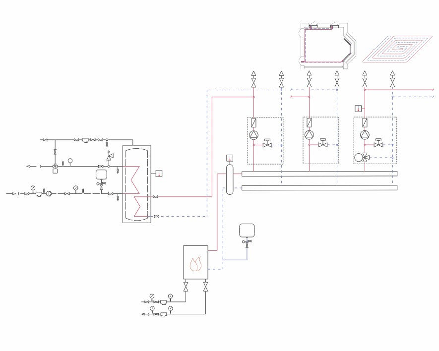 Gas line diagram